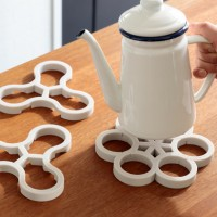 Tangle Pot stand (ivyグレー)  2個セット