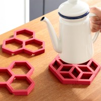 Tangle Pot stand (honeyレッド)  2個セット